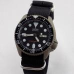 PRE-SALE Seiko 7S26 Titanium Gray Cerakote Black Dial
