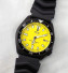 PRE-SALE Seiko 7002 Black Cerakote Yellow Dial Jamaican