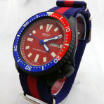PRE SALE! 6309 7290 Black Cerakote RED Dial PEPSI ring