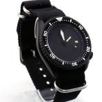 PRE-SALE 7002 Black Cerakote Black STERILE Dial with Ploprof Hands